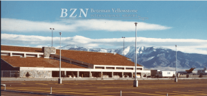 Bozeman Airport photo from 1970s